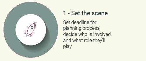 Step 1-set the scene