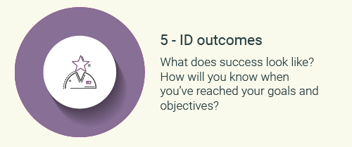 Step 5-Identify outcomes