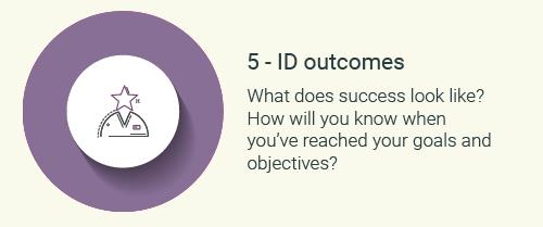 Step 5-Identify outcomes