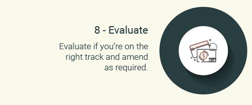Step 8-evaluate